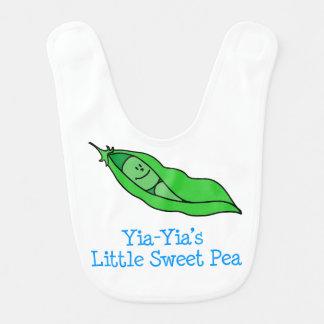 Yia-Yias wenig süße Erbsen-Schellfisch Lätzchen