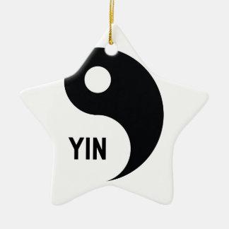 Yin Keramik Stern-Ornament
