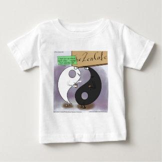 Yin trifft lustigen Yang-Zen Baby T-shirt