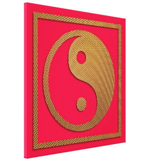 Yin und Yang Leinwanddruck