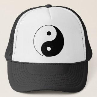 Yin und Yang (YinYang, yin Yang, 陰陽). Truckerkappe