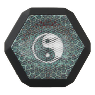 Yin Yang aquamarin Schwarze Bluetooth Lautsprecher