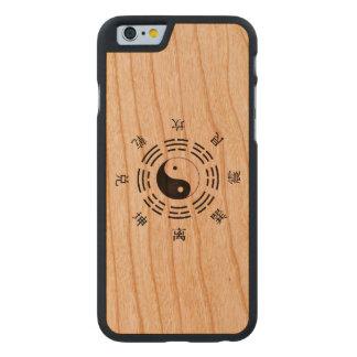 Yin Yang Art Carved® iPhone 6 Hülle Kirsche