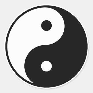 Yin Yang Aufkleber