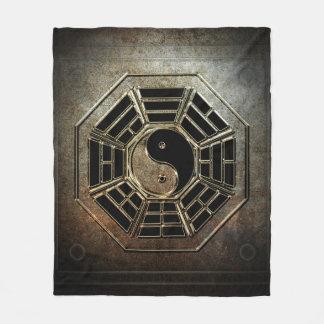 Yin Yang Bagua Fleece-Decke Fleecedecke