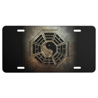 Yin Yang Bagua Kfz-Kennzeichen US Nummernschild