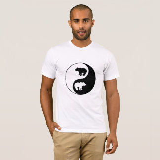 Yin Yang Bär T-Shirt