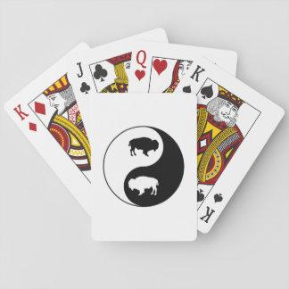Yin Yang Bison Spielkarten