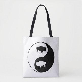 Yin Yang Bison Tasche