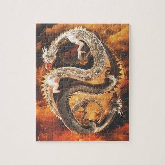 Yin Yang Drachen - Chaos Puzzle