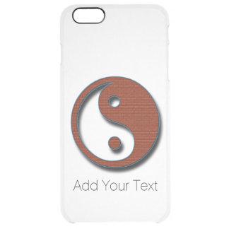 Yin Yang durch Shirley Taylor Durchsichtige iPhone 6 Plus Hülle