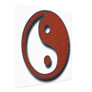 Yin Yang durch Shirley Taylor Leinwanddruck