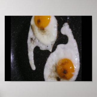 Yin Yang Eggs Poster