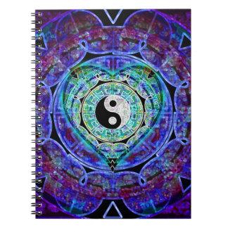 Yin Yang Energie-Fluss Notizbuch