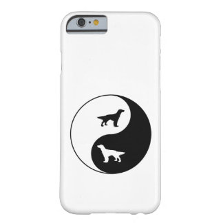Yin Yang englischer Setzer Barely There iPhone 6 Hülle