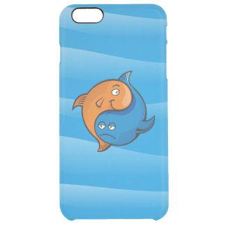 Yin Yang Fisch-Cartoon Durchsichtige iPhone 6 Plus Hülle
