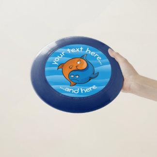 Yin Yang Fisch-Cartoon Wham-O Frisbee
