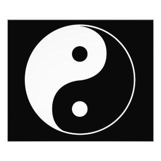 Yin Yang Fotodruck