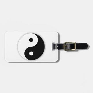 Yin Yang Gepäckanhänger