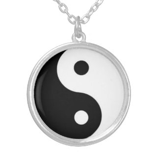 Yin Yang Halskette