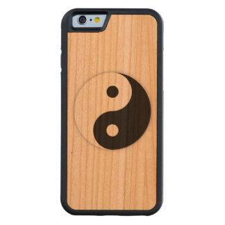 Yin Yang Hülle des Holzes iphone