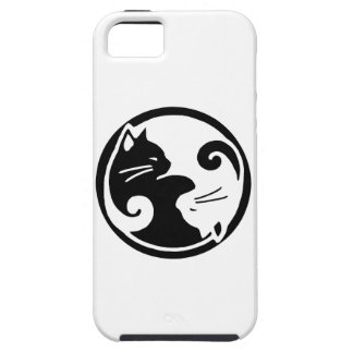 Yin Yang Katzen iPhone 5/5S Fall iPhone 5 Hülle