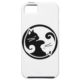 Yin Yang Katzen iPhone 5/5S Fall Tough iPhone 5 Hülle