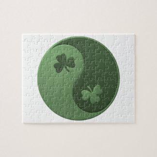 Yin Yang Kleeblätter Jigsaw Puzzle