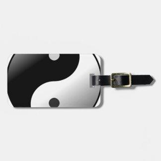 Yin Yang Kofferanhänger