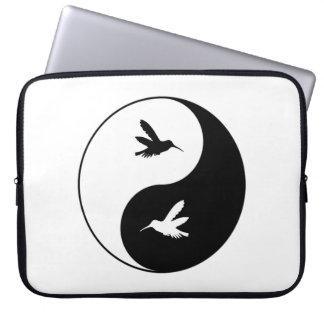 Yin Yang Kolibris Laptopschutzhülle
