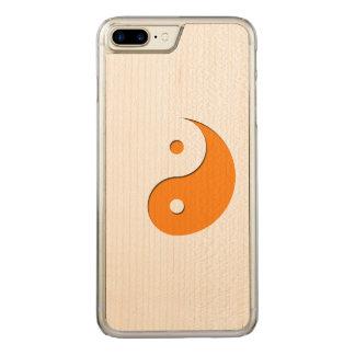Yin Yang - Orange 1 Carved iPhone 8 Plus/7 Plus Hülle