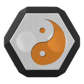 Yin Yang - Orange 1 Schwarze Bluetooth Lautsprecher