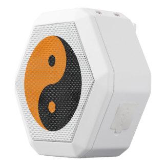 Yin Yang - orange Schwarzes Weiße Bluetooth Lautsprecher