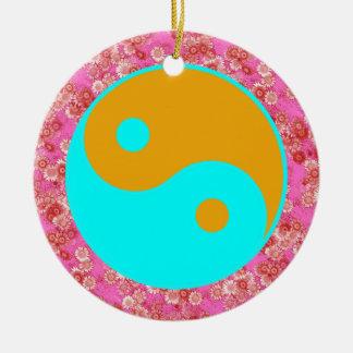 Yin Yang Weihnachtsornament