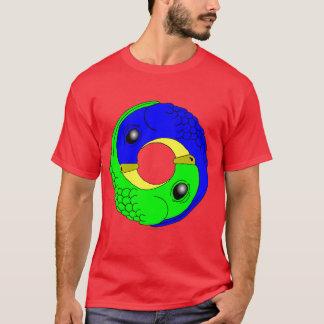 Yin Yang Papageien T-Shirt