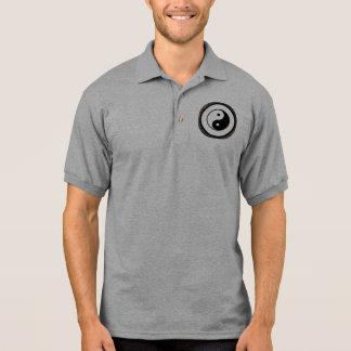 Yin Yang Polo-Shirt-Emblem Polo Shirt