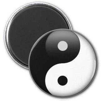 Yin Yang Runder Magnet 5,1 Cm