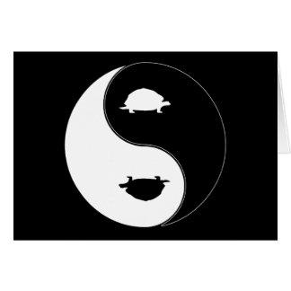 Yin Yang Schildkröte Karte