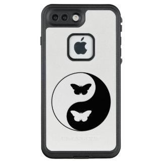 Yin Yang Schmetterling LifeProof FRÄ' iPhone 8 Plus/7 Plus Hülle
