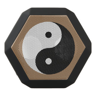 Yin Yang - Schwarzes u. Weiß Schwarze Bluetooth Lautsprecher