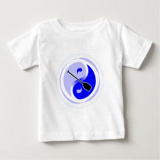 Yin-Yang Single-Blatt Baby T-shirt