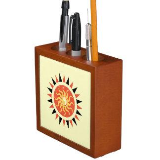 Yin Yang Sonnenschein Stifthalter