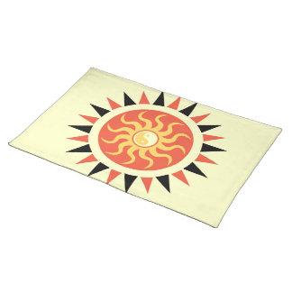 Yin Yang Sonnenschein Tischset