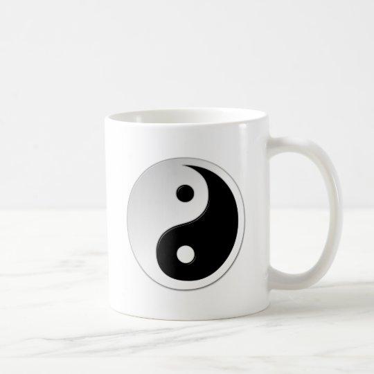 Yin Yang Symbol-Kaffee-Tasse Tasse