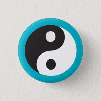 Yin Yang Symbol Runder Button 2,5 Cm