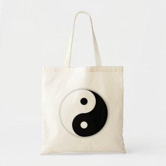 Yin Yang Taschen-Tasche Budget Stoffbeutel