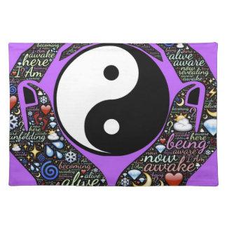 Yin, Yang Tischset