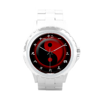 Yin Yang Uhrentwurf