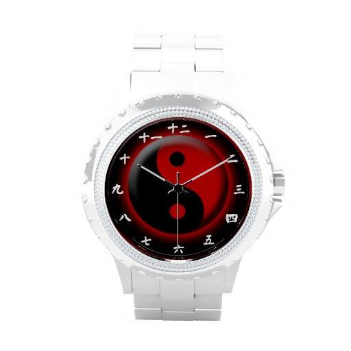 Yin Yang Uhrentwurf Uhren