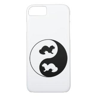 Ying und Yang-Frettchen iPhone 8/7 Hülle